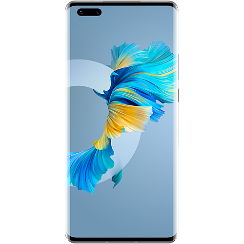 HUAWEI Mate40 Pro 5G Silver Vorne