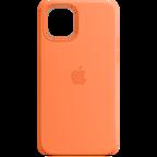 Apple Silikon Case iPhone 12 12 Pro - Kumquat 99931389 kategorie