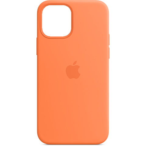 Apple Silikon Case iPhone 12 12 Pro - Kumquat 99931389 vorne