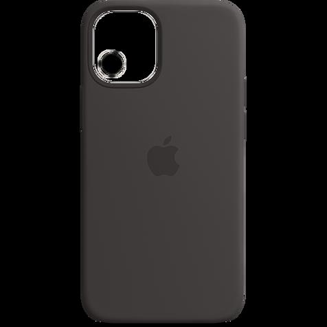 Apple Silikon Case iPhone 12 mini - Schwarz 99931391 hero