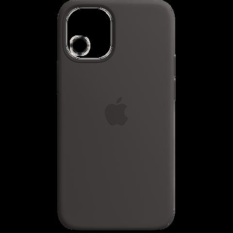 Apple Silikon Case iPhone 12 Pro Max - Schwarz 99931341 vorne
