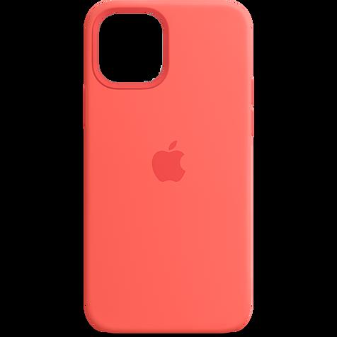 Apple Silikon Case iPhone 12 Pro Max - Zitruspink 99931342 hero