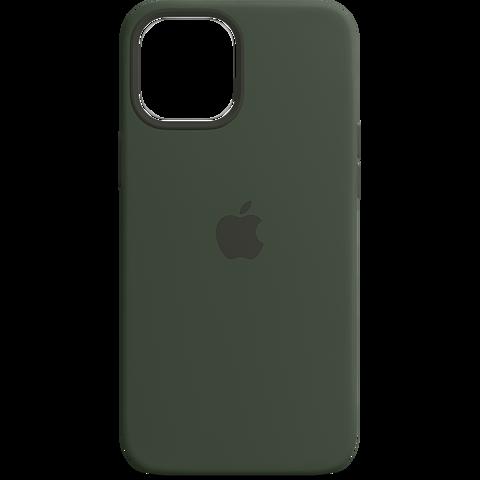 Apple Silikon Case iPhone 12 Pro Max - Zyperngrün 99931344 vorne