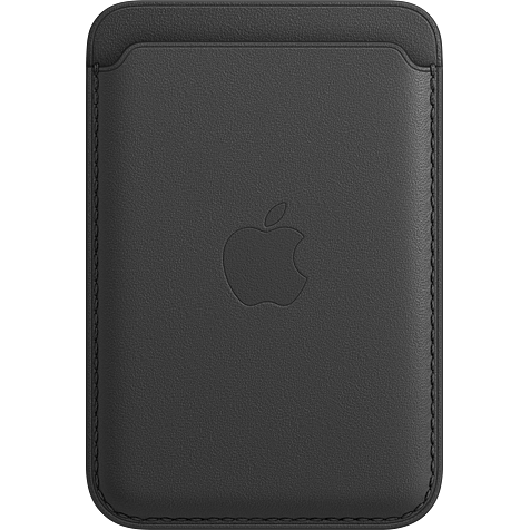 Apple Leder Wallet iPhone 12 Mini - 12 - 12 Pro - 12 Pro Max - Schwarz 99931395 hero