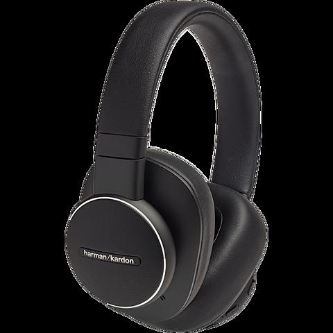 Harman Kardon FLY ANC Wireless Over-Ear Bluetooth-Kopfhörer - Schwarz 99931265 seitlich