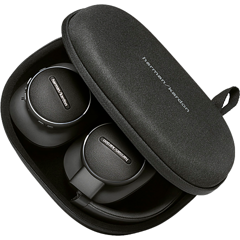Harman Kardon FLY ANC Wireless Over-Ear Bluetooth-Kopfhörer - Schwarz 99931265 hinten