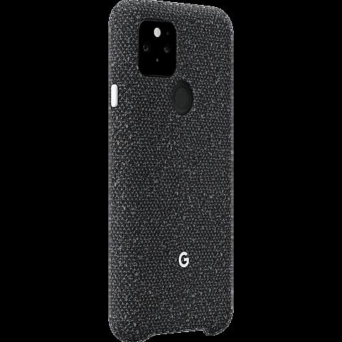 Google Stoff Case Pixel 5 - Basically Black 99931352 vorne