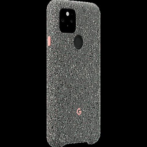 Google Stoff-Case Pixel 5 - Static Grey 99931355 vorne