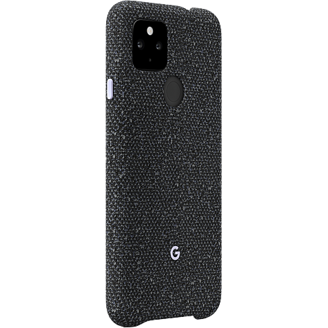 Google Stoff Case Pixel 4a - Basically Black 99931356 hero
