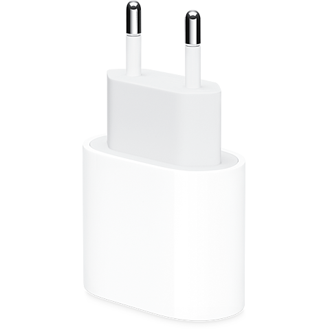 Apple 20W USB-C Power Adapter - Weiß 99931520 vorne