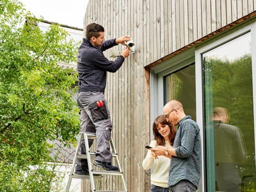 Sicherheit mit Smart Home der Telekom