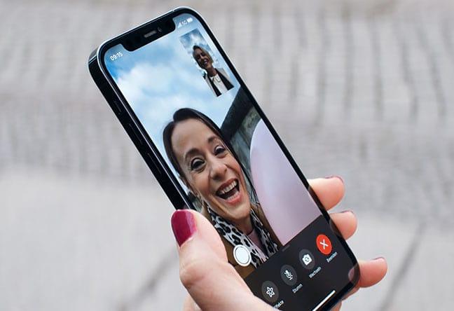 iPhone 12 pro mit 5G: FaceTime neu erleben