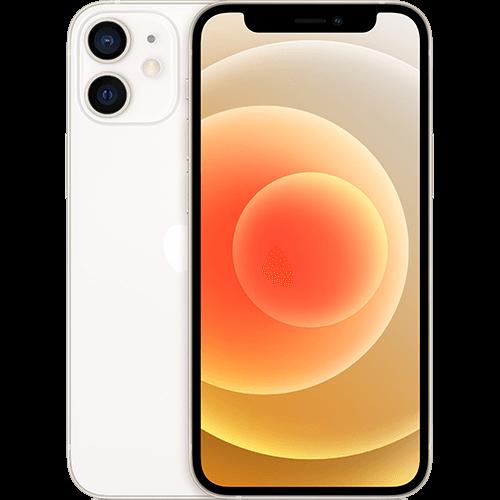 Apple iPhone 12 mini Weiß Vorne und Hinten