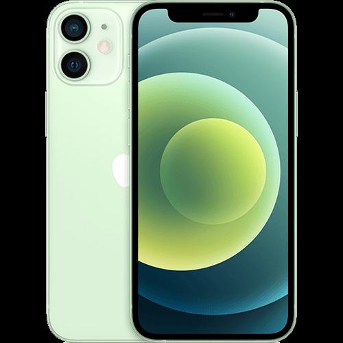 Apple iPhone 12 mini Grün Vorne und Hinten