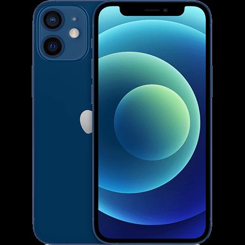 Apple iPhone 12 mini Blau Vorne und Hinten