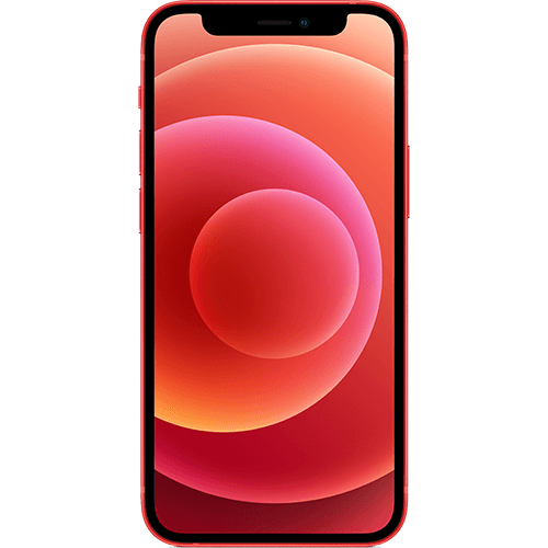 Apple iPhone 12 mini (PRODUCT)RED Vorne