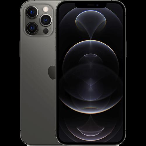 Apple iPhone 12 Pro Max Graphit Vorne und Hinten