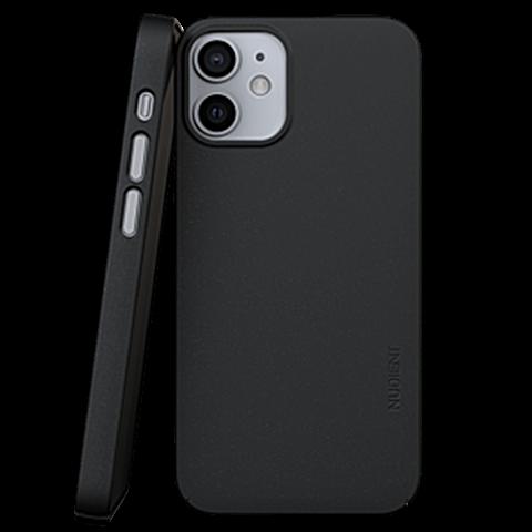Nudient Cover V3 Apple iPhone 12 - Schwarz 99931267 vorne