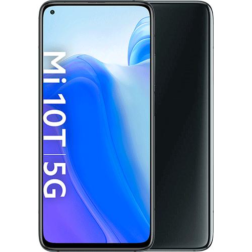 Xiaomi Mi 10T Cosmic Black Vorne und Hinten
