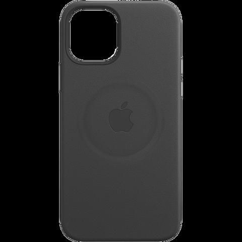 Apple Leder Case iPhone 12 mini - Schwarz 99931408 vorne