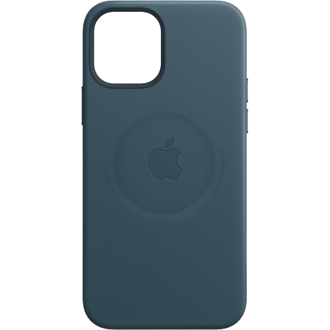 Apple Leder Case iPhone 12 mini - Baltischblau 99931410 hero