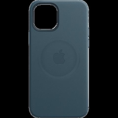 Apple Leder Case iPhone 12 Pro Max - Baltischblau 99931404 vorne