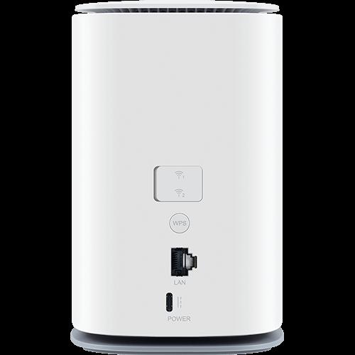 Telekom Speedbox 2 Weiß Hinten