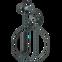 AKG N200A Wireless In-Ear Bluetooth-Kopfhörer - Schwarz 99931480 hinten thumb