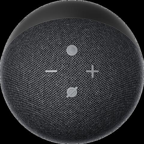Amazon Echo Dot (4. Gen.) - Anthrazit 99931607 hinten