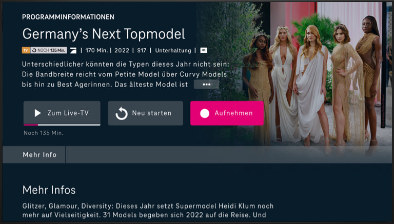 MagentaTV mit MagentaTV App | Telekom