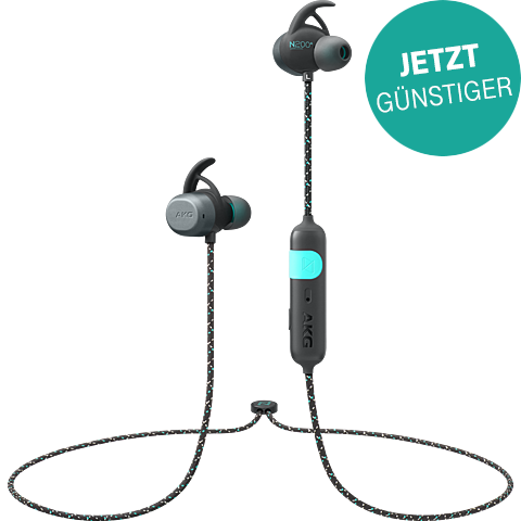 AKG N200A Wireless In-Ear Bluetooth-Kopfhörer - Schwarz 99931480 vorne