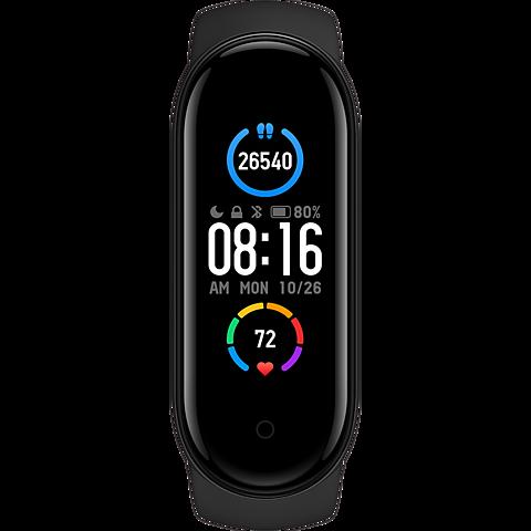 Xiaomi Mi Smart Band 5 - Schwarz 99931648 vorne