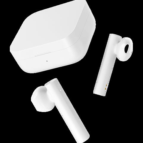 Xiaomi Mi True Wireless Bluetooth-Kopfhörer 2 Basic - Weiß 99931651 seitlich