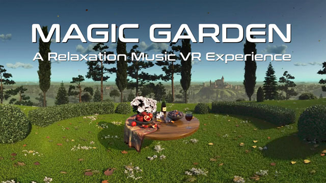 Virtual Reality Relax-Videos - Magic Garden