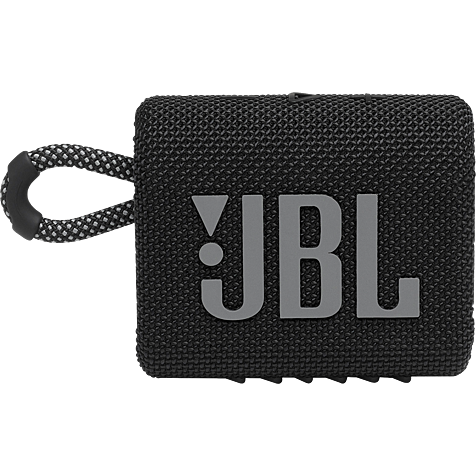 JBL GO 3 Bluetooth-Lautsprecher - Schwarz 99931726 hero