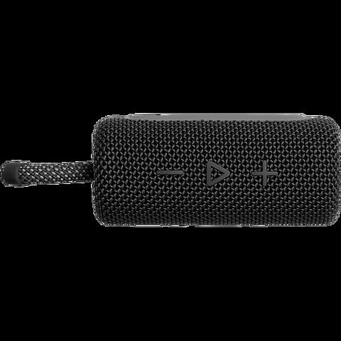 JBL GO 3 Bluetooth-Lautsprecher - Schwarz 99931726 seitlich