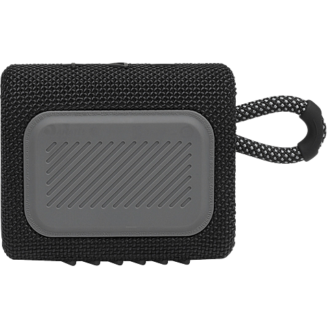 JBL GO 3 Bluetooth-Lautsprecher - Schwarz 99931726 hinten