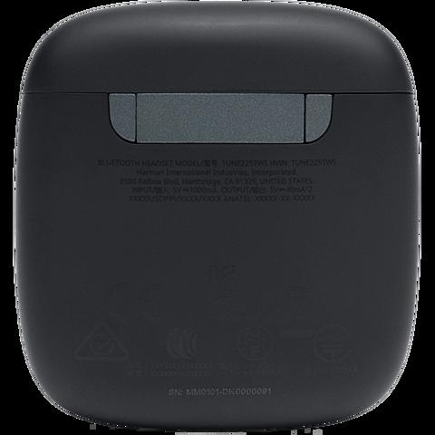 JBL Tune 225 TWS In-Ear Bluetooth-Kopfhörer - Schwarz 99931728 hinten