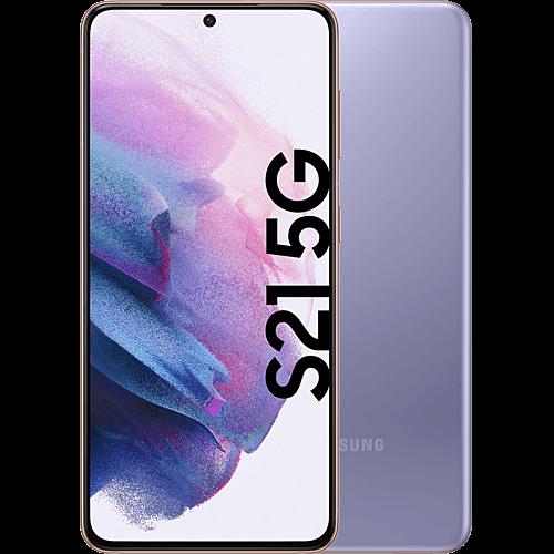 Samsung Galaxy S21 5G Phantom Violet Vorne und Hinten
