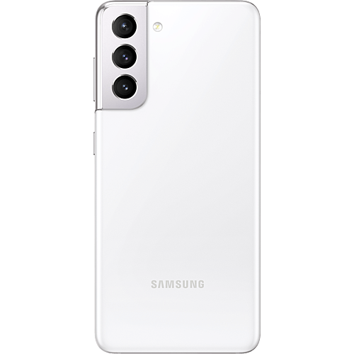 Samsung Galaxy S21 5G Phantom White Hinten