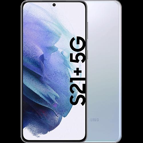 Samsung Galaxy S21+ 5G Phantom Silver Vorne und Hinten