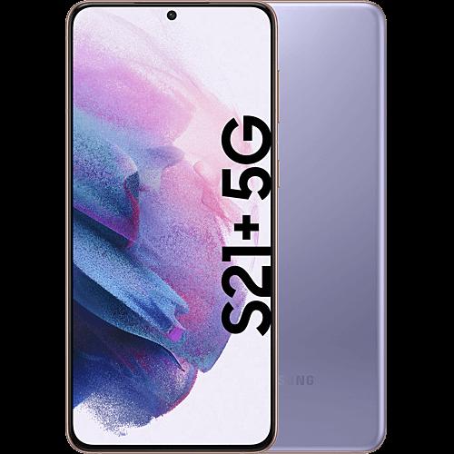 Samsung Galaxy S21+ 5G Phantom Violet Vorne und Hinten