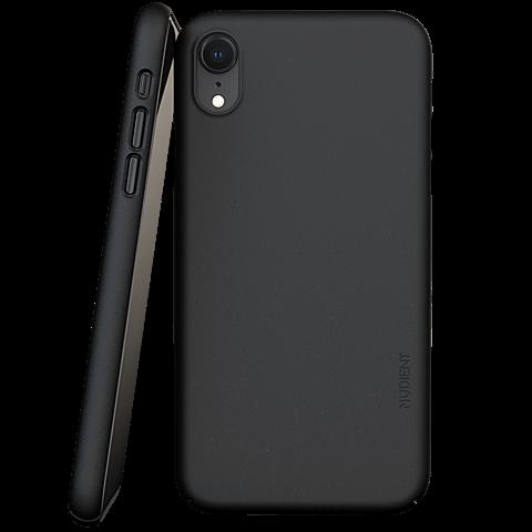 Nudient Slim Cover V3 iPhone XR - Schwarz 99931620 vorne