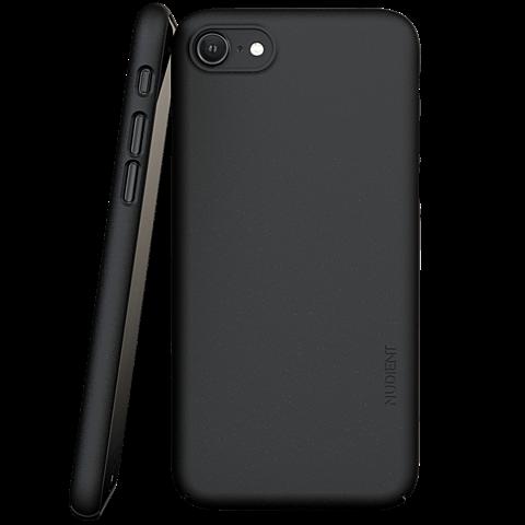 Nudient Slim Cover V3 iPhone SE / 8 - Schwarz 99931617 vorne
