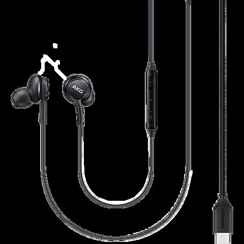 Samsung EO-IC100 In-Ear Kopfhörer USB Type-C - Schwarz 99931746 vorne