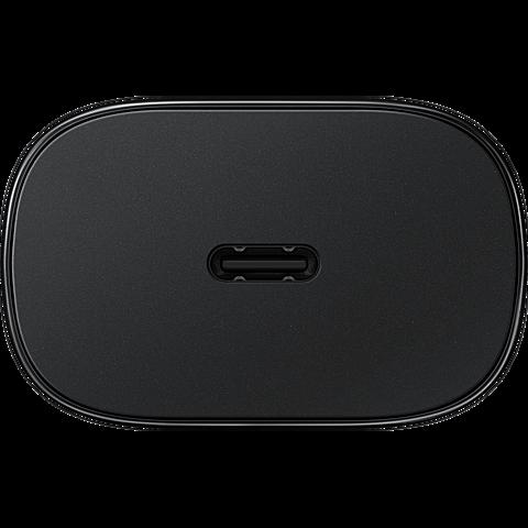 Samsung 25W EP-TA800N Schnellladegerät - Schwarz 99931724 hinten
