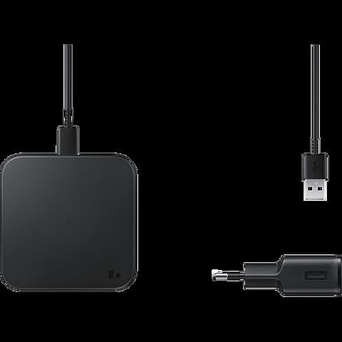 Samsung Induktives Wireless Ladpad EP-P1300 - Schwarz 99931739 seitlich