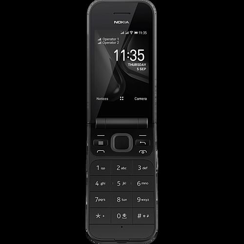 Nokia 2720 Flip Schwarz Vorne
