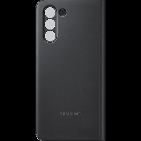 Samsung Clear View Cover Galaxy S21 5G - Schwarz 99931730 hinten