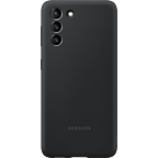 Samsung Silicone Cover Galaxy S21 5G - Schwarz 99931732 kategorie